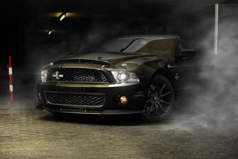 Ford Mustang GT500 Super Snake vehicles cars auto smoke rubber burnout  wheels lights roads ford wallpaper