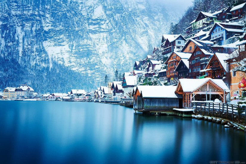 Hallstatt Austria wallpaper. Download