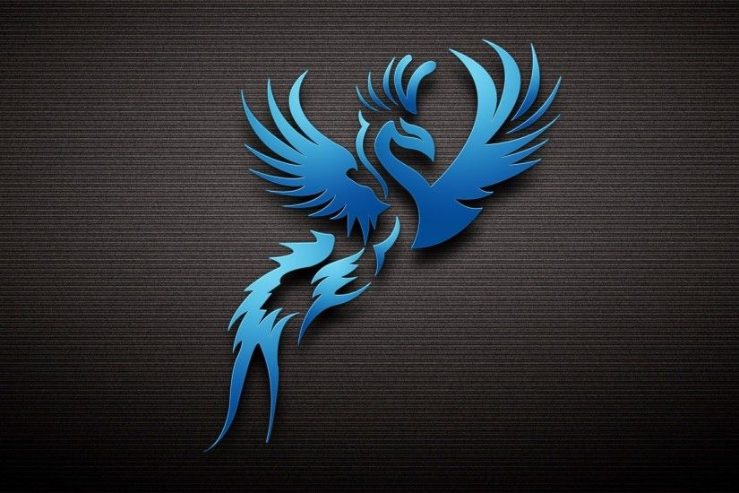 Dark Blue Bird Wallpaper