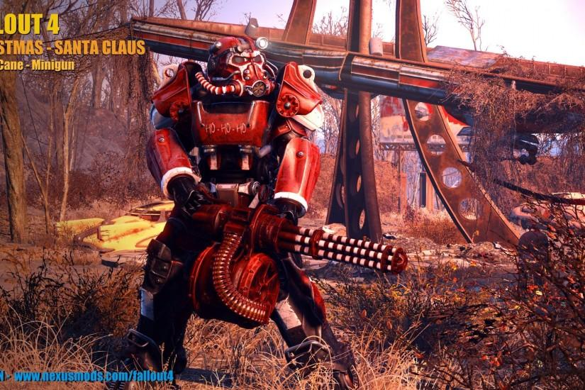 Christmas - Santa Claus Power Armor at Fallout 4 Nexus - Mods and community