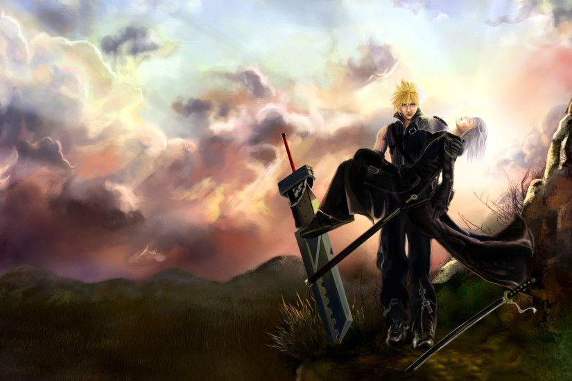 Movie - Final Fantasy VII: Advent Children Cloud Strife Kadaj (Final  Fantasy) Wallpaper