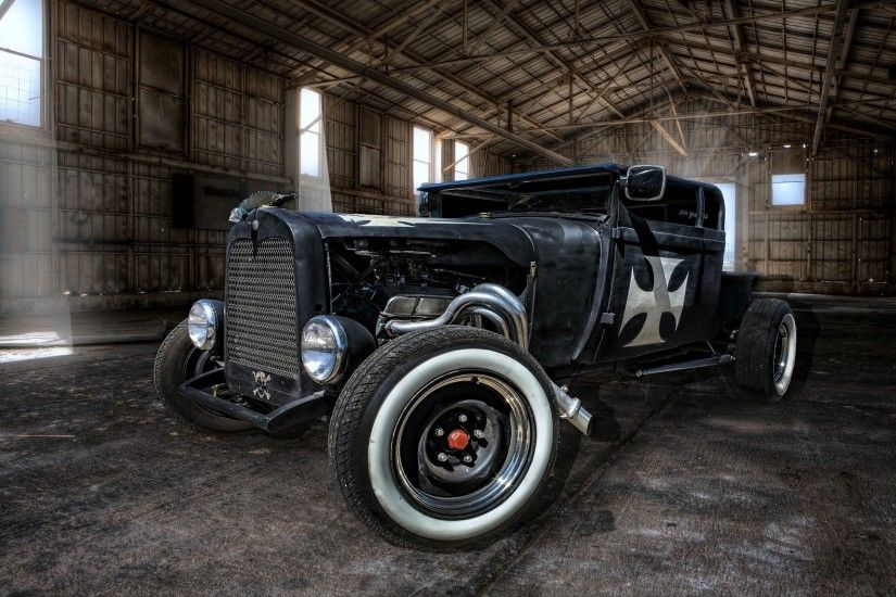 wallpaper HDR · cars · Rat Rod