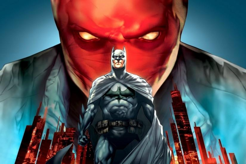 Batman, DC Comics, Superhero, Bruce Wayne, Jason Todd, Red Hood Wallpaper HD