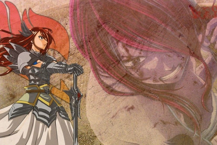 Erza Scarlet - Fairy Tail Wallpaper #26210