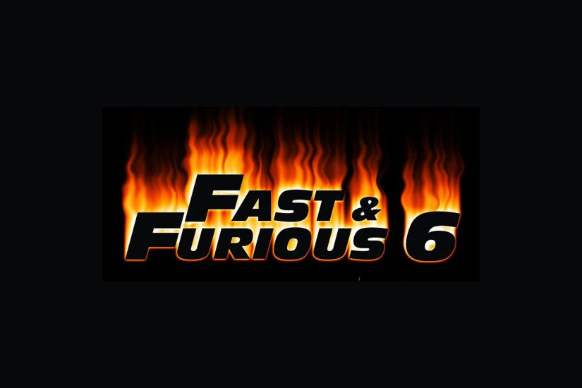 Fast And Furious 6 Logo wallpaper