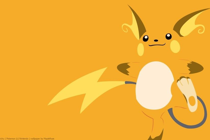 Raichu Pokémon Wallpapers
