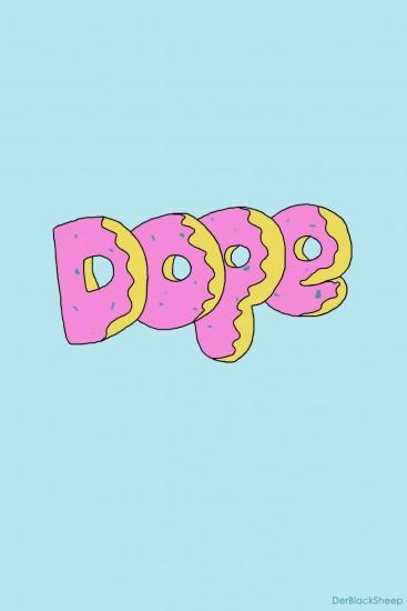 DR33MZ — derblacksheep: Dope Donut - Wallpaper Donut Wallpaper Tumblr