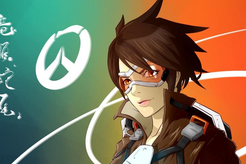 overwatch tracer wallpaper 3840x2160 photos