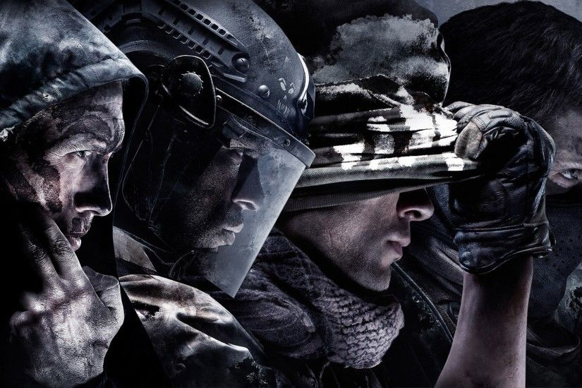 Call of Duty Ghosts Action Video Game War HD Wallpaper - http://www