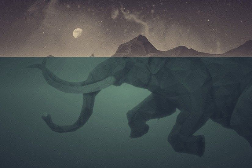Underwater Polygon Mammoth