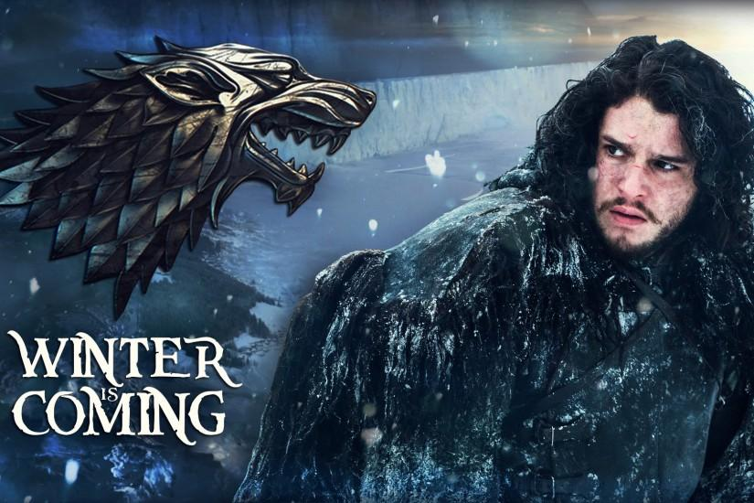 Game of Thrones - Jon Snow - Winter is coming! by GusseArt on .