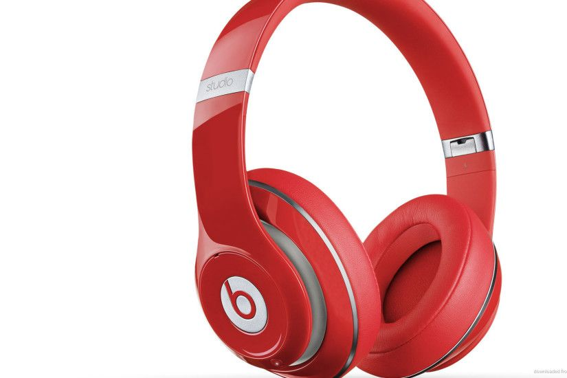 New Beats by Dre Studio Red Left picture