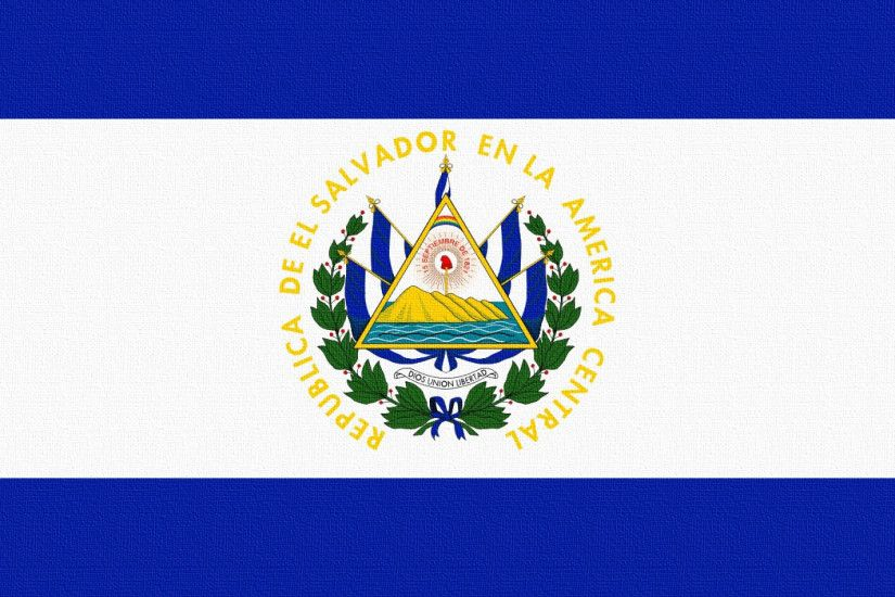 ... Download Wallpaper 3840x1200 Flag, El salvador, Lines, Symbols .