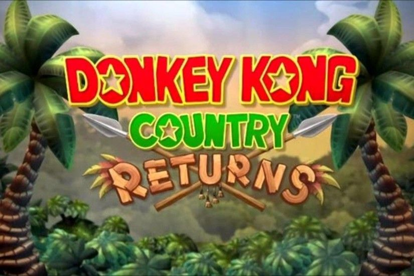 Donkey Kong Country Returns HD Wallpaper 24 - 1920 X 1080