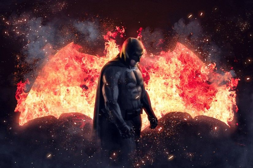 Creative 2016 Batman v Superman Movie 4K Wallpaper