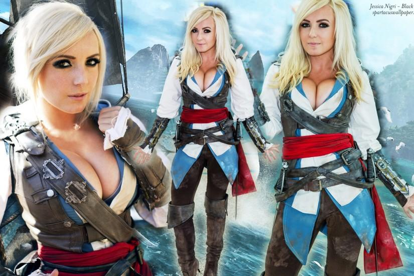 jessica nigri wallpaper 1920x1200 htc