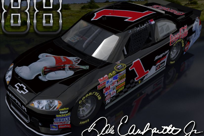 Dale Earnhardt Jr Coke Bear Retro 2 Outdoor Wallpaper is a nice .