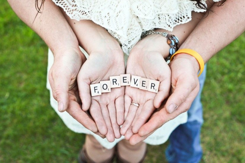 Cute Love Thought- Together Forever Cute Love Wallpaper - Together Forever