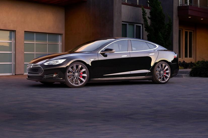 2015 Tesla Model-S P85D electric supercar wallpaper | 2560x1600 | 600828 |  WallpaperUP