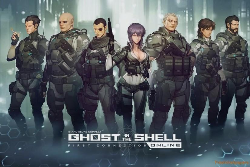 ghost in the shell wallpaper 2560x1600 picture