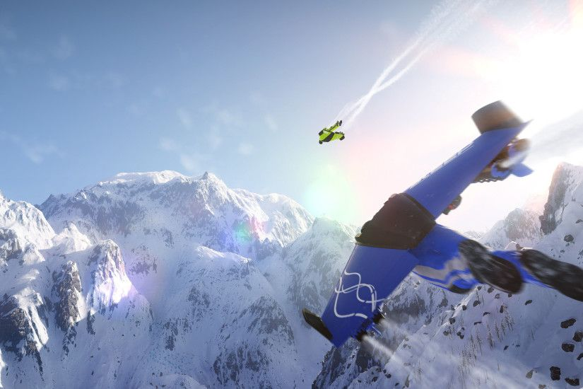 Steep Wing Suit 4k