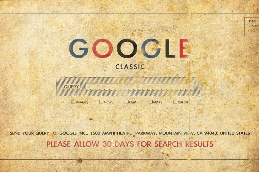 Preview wallpaper google, classic, old, art, logo 1920x1080
