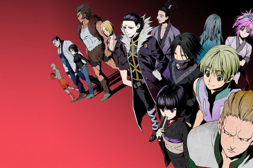 Hunter X Hunter Phantom Troupe Wallpapers High Resolution with High  Definition Wallpaper Resolution