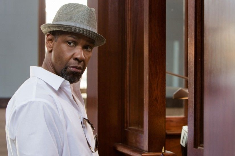 Download now full hd wallpaper denzel washington serious hat barb shirt ...