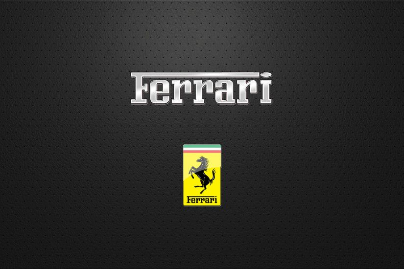 Ferrari Logo Wallpaper Wide