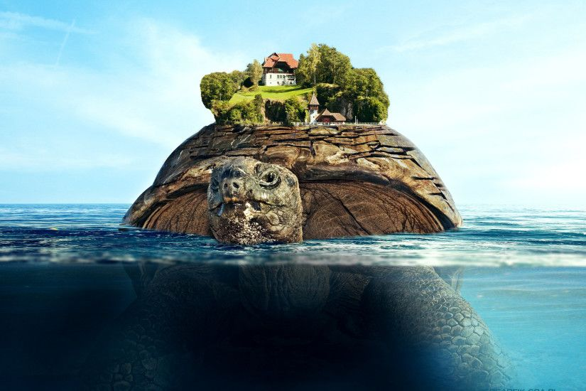 Floating island wallpapers and stock photos