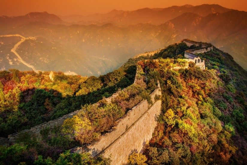 Great Wall of China Background 36528