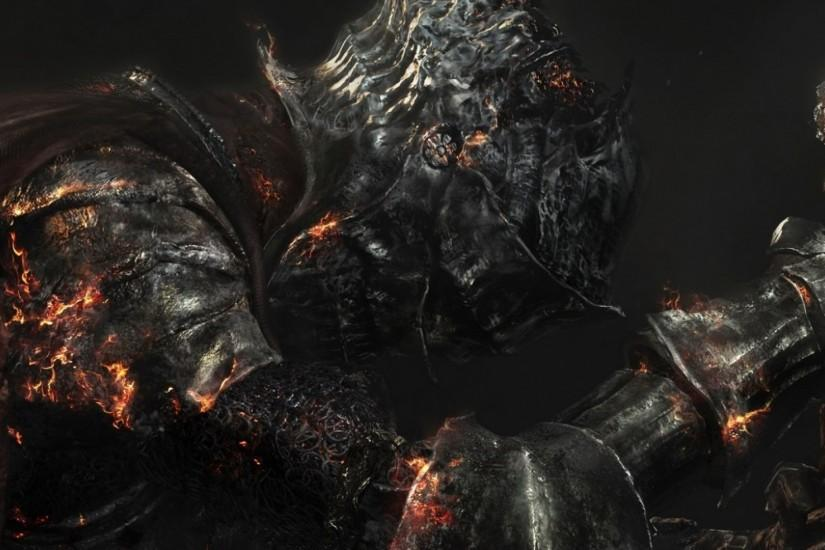 Preview wallpaper dark souls 3, dark souls iii, armor 2048x2048