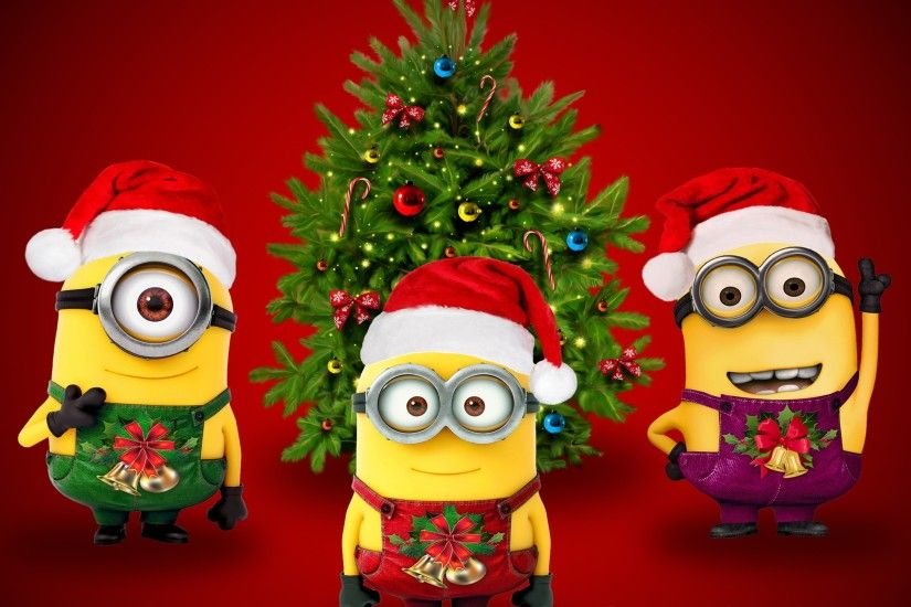 Celebrations / Christmas / Minions Wallpaper