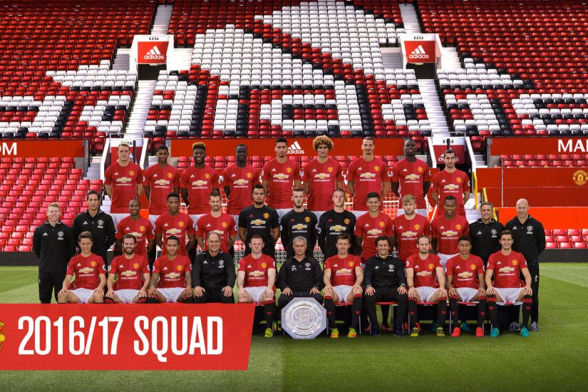 Download official Manchester United team photo wallpaper - Official Manchester  United Website