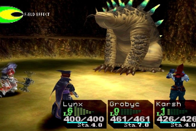 Chrono Cross Boss Earth Dragon