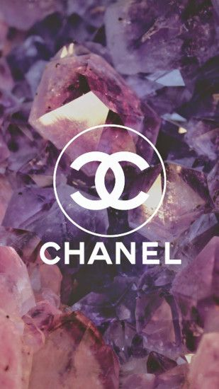 Coco Chanel Logo Diamonds iPhone 6 Wallpaper Download | iPhone .