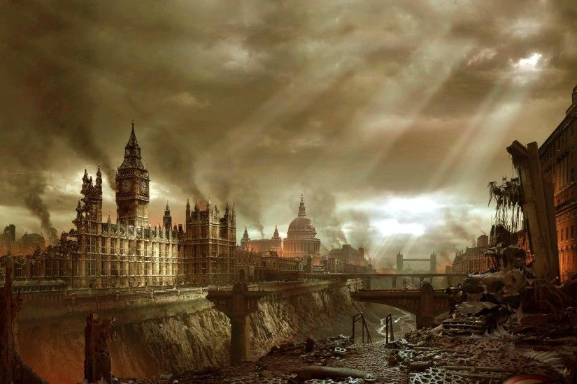 Sci Fi - Post Apocalyptic - Apocalyptic - Hellgate London Wallpaper