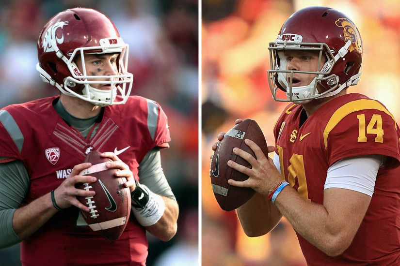 USC, Sam Darnold will be tested by Washington State's high-powered Luke  Falk | NCAA Football | Sporting News
