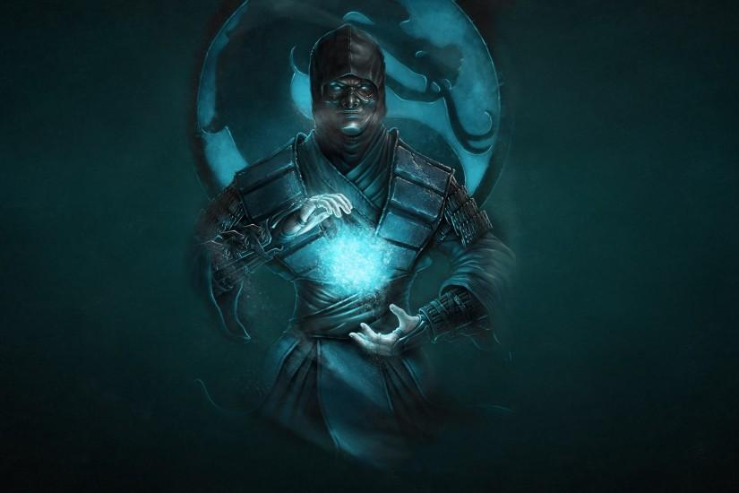 Preview wallpaper mortal kombat, ninja, art, sub-zero, cold, dragon