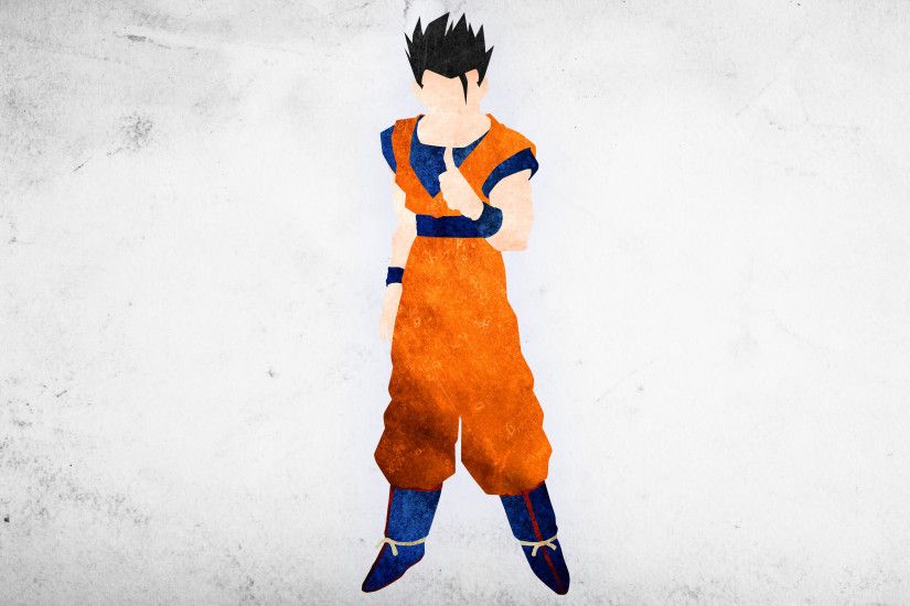 Ultimate Gohan Minimalisitc Wallpaper by KhUnlimited on DeviantArt