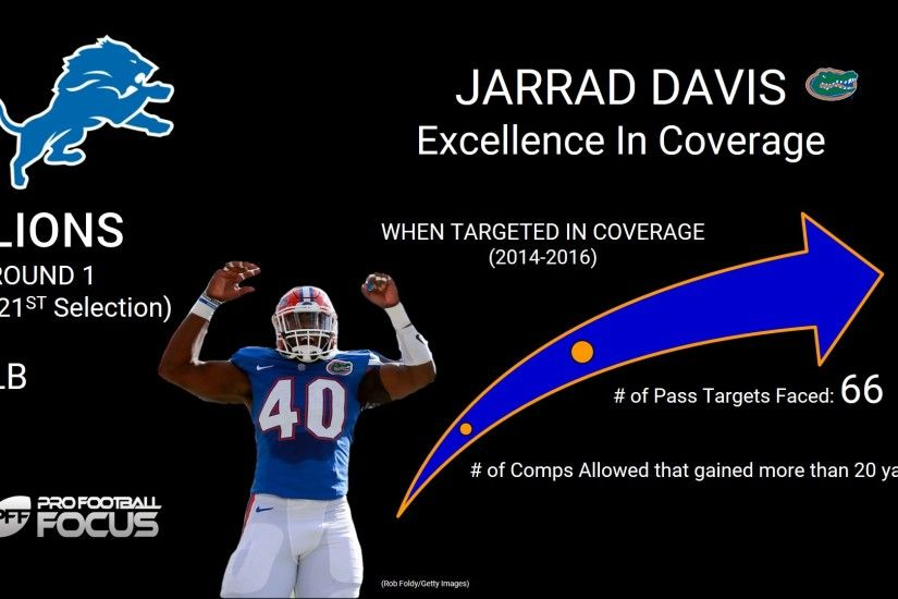 Here are a few examples of Davis' coverage abilities.