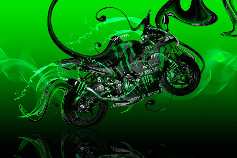 kawasaki monster energy wallpaper with - photo #11