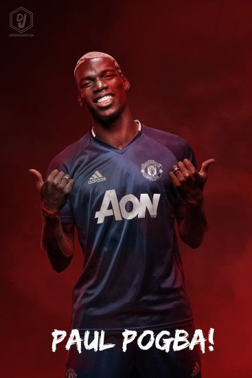 dianjay 3 0 Paul Pogba Manchester United 2016/17 Wallpaper by dianjay
