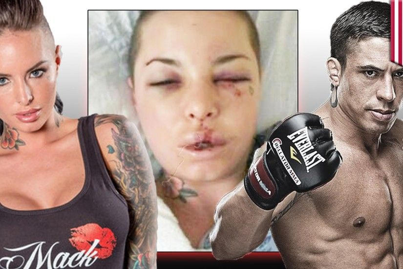 MMA fighter War Machine beats adult-film actress Christy Mack in her Las  Vegas home - YouTube