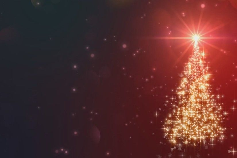 Christmas Background Loop. Rotating Christmas Decorations And ..