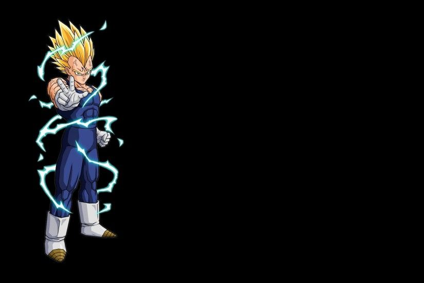 dragon ball z wallpaper vegeta