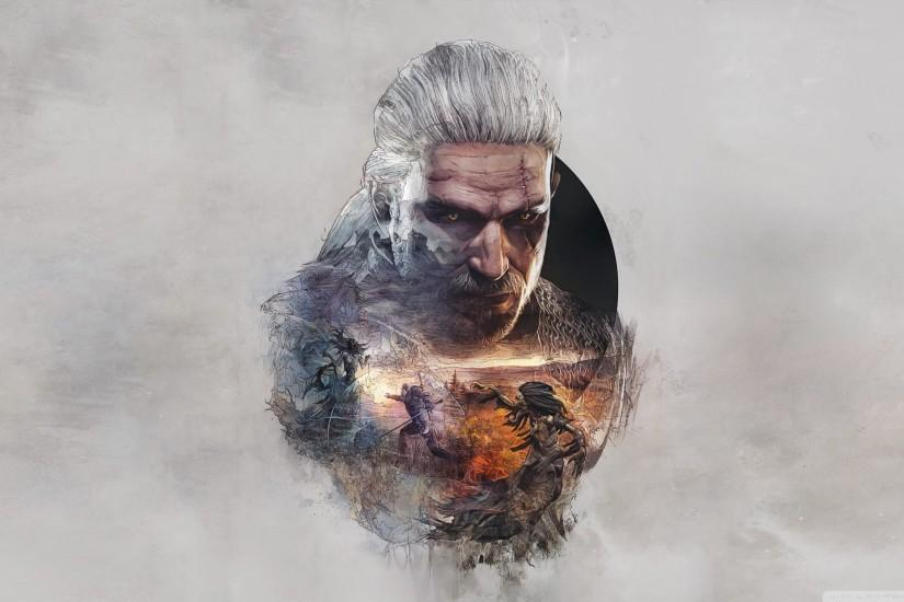 large the witcher 3 wallpaper 2560x1440 image