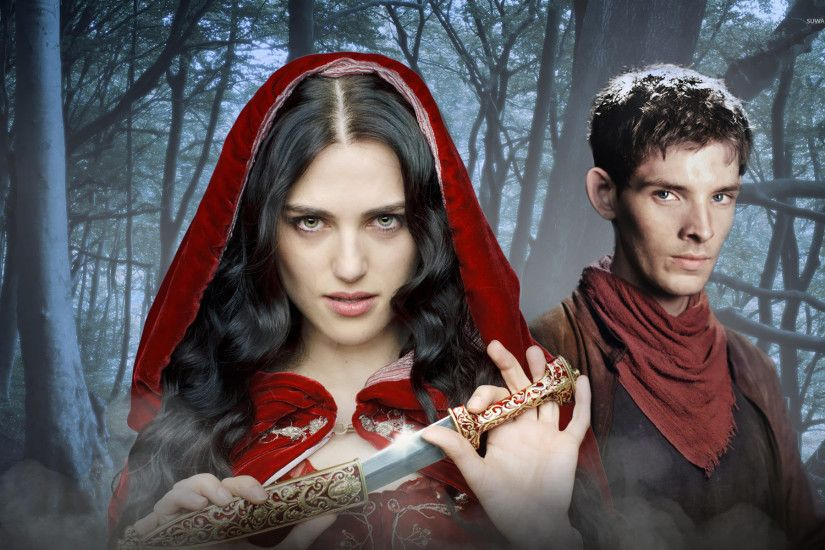 Merlin and Morgana wallpaper