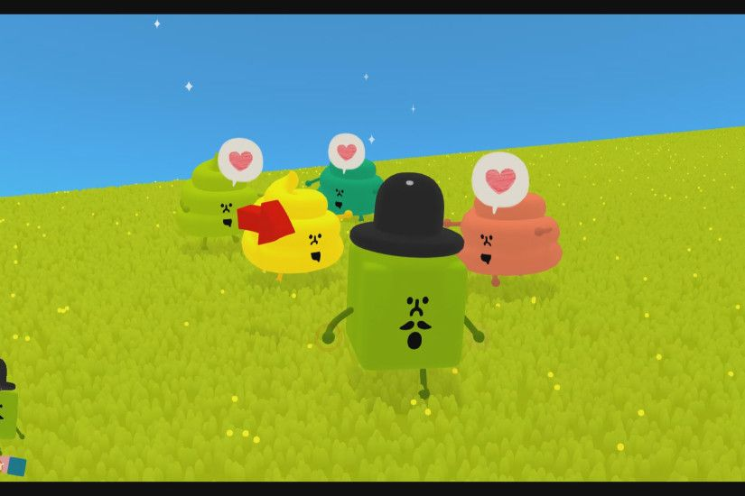 We had a chance to sit down with Wattam at PSX 2017 last weekend. For those  that love the Katamari Damacy series, you'll feel right at home here.