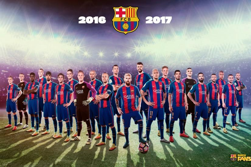 FC Barcelona Wallpapers 2017 4 FC Barcelona Team 2016 2017 ...
